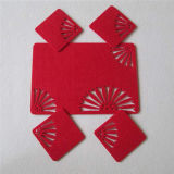 Shaped Rug Polyester Felt Coaster Lovely Felt Placemat