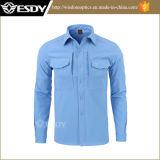 Men′s Winter Skark-Skin Thermal Waterproof Windproof Fleece Shirt