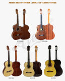 Aiersi Hot Sale Handmade Vintage Spanish Nylon String Classical Guitar