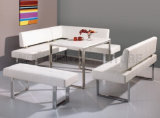 Home Furniture Stores Formal Dining Room Kitchen Table Sets (NK-DTB031)