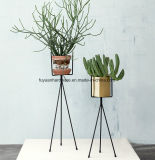 Powder Coating Three Foot Stand Flower Pot Stand