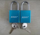 Aluminimum Alloy Colour Plated Padlock (1117)