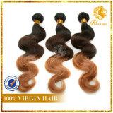 Xuchang Top Quality Hair T Tone Color Body Wave 8A Grade 100% Virgin Hair Body Wave