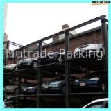 Four Post Car Lift Hydraulic Car Stacker Parking