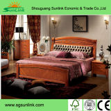 Chinese Modern Solid Wood Luxury Suite Hotel Bedroom Furniture