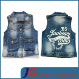 Factory Wholesale Kids Denim Vest (JT8016)