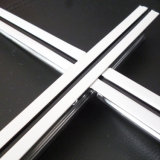 Exposed Flat Groove White Black Line Ceiling T Grids (SGS, 15/25mm)