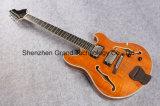 Redwood Top Golden Hardware Lp Style Eelctric Guitar (GLP-111)