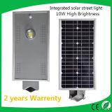 10W Motion Sensor Integrated Solar LED Street Light