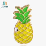 Jiabo Promotion Zinc Alloy Enamel Pineapple Lapel Badge