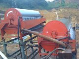Double Roller Magnetism Ore Dry Magnetic Drum Separator