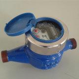 Plastic Multi-Jet Vane Wheel Wet Dail Cold Water Meter