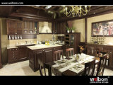 ISO Welbom Antique Chocolate Solid Wood Kitchen Cabinets