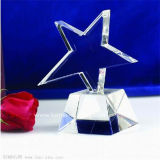 Acrylic Crystal Star Trophy Laser Engraving Award (BTR-I 7042)