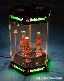 Custom Organic Glass Clear Acrylic Retail Display Cases