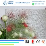6mm Clear Frosted Obsured Patterned Glass for Glass Door