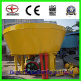Two Rollers Wet Pan Mill Gold Grinding Machine
