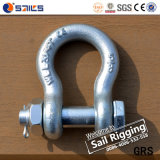 High Load G2130 Galvanized 3.25t Shackle