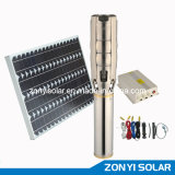 """6"""" Solar AC Submersible Pump with 68cbm Flow Rate"""