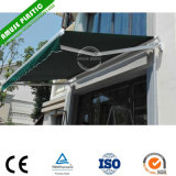 Outdoor Adjustable Wind Resistant Folding Balcony Door Canopy