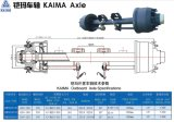 Kaima Axle Semi-Trailer Axle Parts Direct Factory Rear Axle
