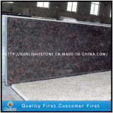 Polished Tan Brown Granite Kitchen Countertops for Home and Hotel
