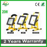 2016 Flat Type 20W 2.5h Portable LED Flood Light