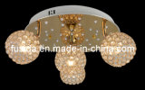 2014 Newest Graceful Handcraft LED Ceiling Lighting with Crystal