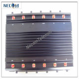 China GSM Jammer System Price Cell Phone Blocker with Cooling Fans, GPS&GSM Mobile Signal Jammer