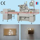 Automatic on Edge Biscuit/Bakery Food Horizontal Flow Packing Machine