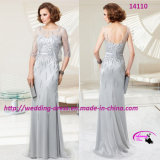 New Fashion Noble Mother of Bride Dress with V-Neckline Back