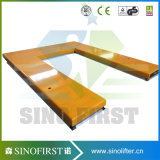 1000kg Hydraulic Low Height Scissor Elevator Table