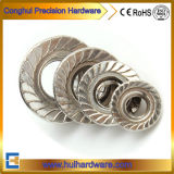 DIN 6923 Stainless Steel 304 A2-70 Hexagon Flange Nut