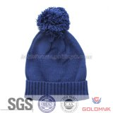 Girl′s Winter Fashion Knitted Hat with Cuff