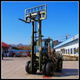 5 Ton All Terrain Forklift Truck Full Wheel Drive