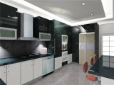 ISO Welbom Custom Made Modern Lacquer Kitchen Cabinet