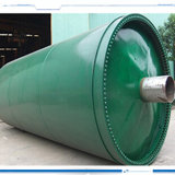 New Type Rubber Waste Pyrolysis Plant Refing Rubber Waste to to Oil Plant 12ton