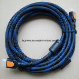 Color Sleeving Braid HDMI Cable Connector (BYA-3006)