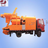 Jbc40 Mobile Concrete Mixer Pump by Truck with Four Wheels