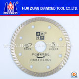 Small Turbo Diamond Saw Blade for Tile Cutting