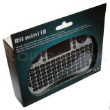 Rii Mini 2.4GHz Mini Wireless Keyboard with Touchpad for PC, HTPC, Google TV, iPad, PS3, IPTV -ZW-51006(MWK01)