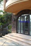 Aluminum Casement Door with Grille for Entrance Door