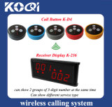 K-236 Wireless Paging Calling System for Waiter Service