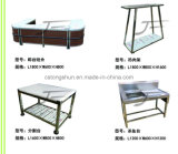 Supermarket Stainless Steel Work Bench Table