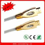 Metal Shell 1.4V HDMI Cable Support 1080P 2160p