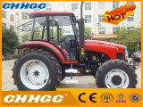 Hot Selling Wheel Tractor, 4*4 Agricultural Tractor Farm Machinery