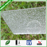 Clear Excellent Light Bling Plastic PC Polycarbonate Embossed Sheet Wholesale