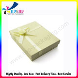 Ecofriendly Cardboard Paper Gift Box with Ribbon Flower