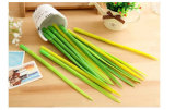Wholesale Factory Price Creative Silicone Green Grass Shaped Ballpoint Pens