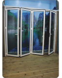 Design Acoustical Insulation Plastic PVC Folding Door